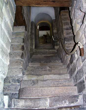 The Steep Stairs Within The Castle Are Very Reminiscent Of Escheru0027s  Illustration Of Staircases Which Seem To Defy Logic. The Castle Stands On A  Steep Sided ...